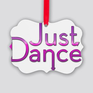 Just Dance Picture Ornament