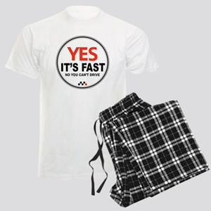 Yes Its Fast Men's Light Pajamas