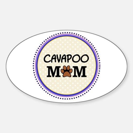Cavapoo Dog Mom Decal