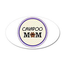 Cavapoo Dog Mom Wall Sticker
