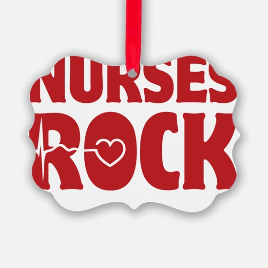 NursesRock1D Ornament