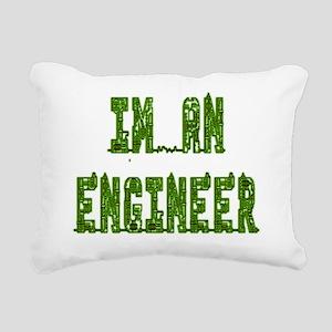 Im an Engineer Rectangular Canvas Pillow