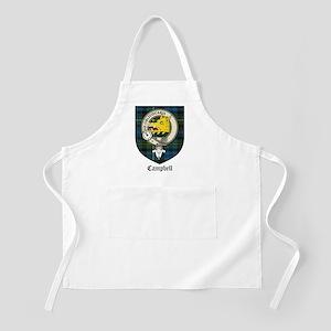 Campbell Clan Crest Tartan BBQ Apron