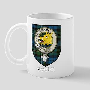 Campbell Clan Crest Tartan Mug