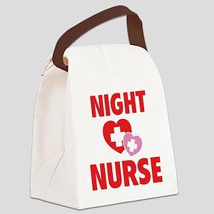 nightNurse1C Canvas Lunch Bag