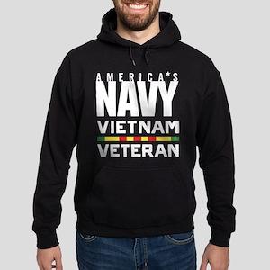 America's Navy Vietnam Veteran Hoodie (dark)