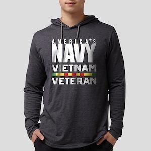 America's Navy Vietnam Veteran Mens Hooded Shirt