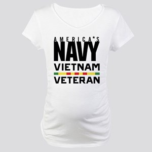 America's Navy Vietnam Veteran Maternity T-Shirt