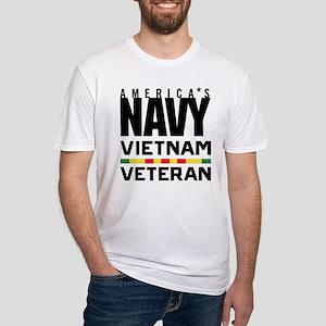 America's Navy Vietnam Veteran Fitted T-Shirt