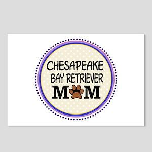 Chesapeake Bay Retriever Mom Postcards (Package of