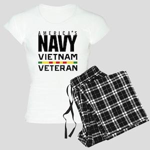 America's Navy Vietnam Vete Women's Light Pajamas