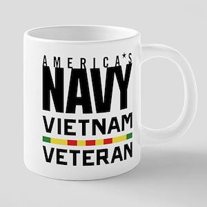 America's Navy Vietnam Vete 20 oz Ceramic Mega Mug
