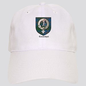 Carmichael Clan Crest Tartan Cap