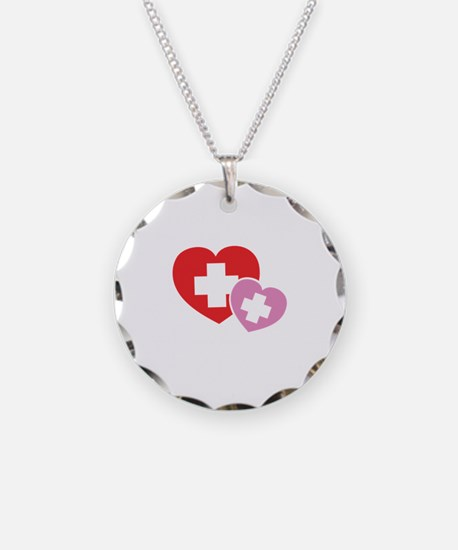 futureNurse1B Necklace Circle Charm