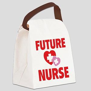 futureNurse1C Canvas Lunch Bag