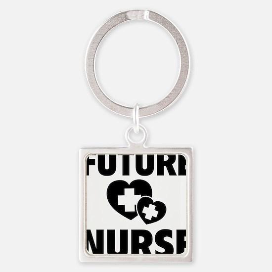 futureNurse1F Square Keychain
