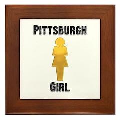 Pgh Girl Framed Tile