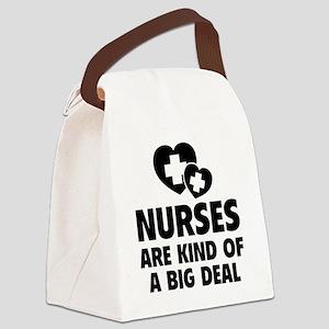 nursesDeal1F Canvas Lunch Bag