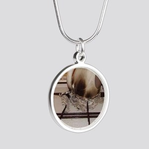 Kitchen Virgin Silver Round Necklace