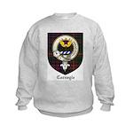 Carnegie Clan Crest Tartan Kids Sweatshirt