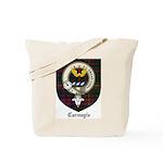Carnegie Clan Crest Tartan Tote Bag
