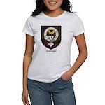 Carnegie Clan Crest Tartan Women's T-Shirt