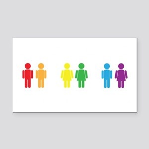 Love is Love Rectangle Car Magnet