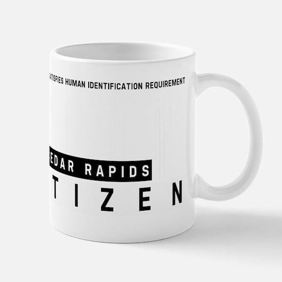 Cedar Rapids, Citizen Barcode, Mug