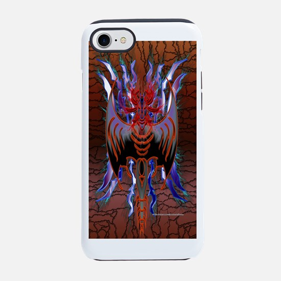 Tribal Red Dragon iPhone 7 Tough Case