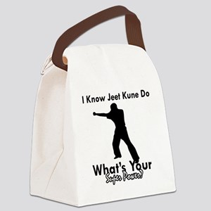 jeet kune do Canvas Lunch Bag