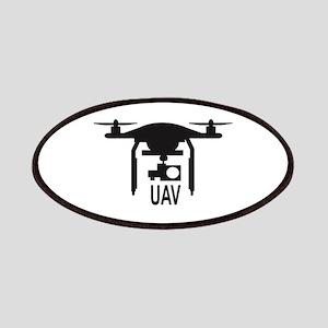 UAV Drone Silhouette Patch