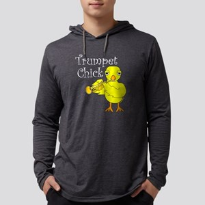 Trumpet Chick Text Long Sleeve T-Shirt