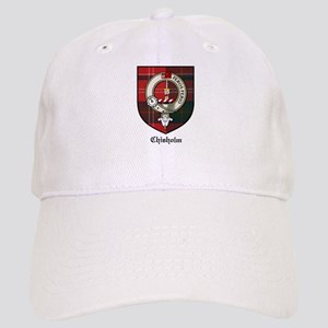 Chisholm Clan Crest Tartan Cap