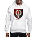 Chisholm Clan Crest Tartan Hooded Sweatshirt
