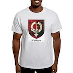 Chisholm Clan Crest Tartan Light T-Shirt