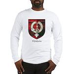 Chisholm Clan Crest Tartan Long Sleeve T-Shirt