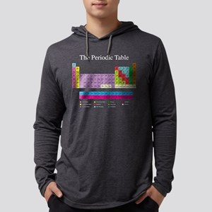 Periodic Table (dark) Long Sleeve T-Shirt