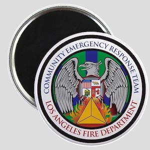 LAFD-CERT Logo Magnet