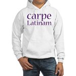 Carpe Latinam Hooded Sweatshirt