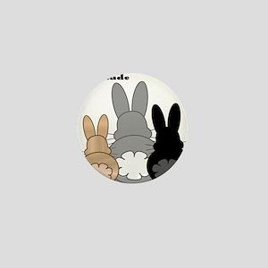 Rabbittude Posse Mini Button