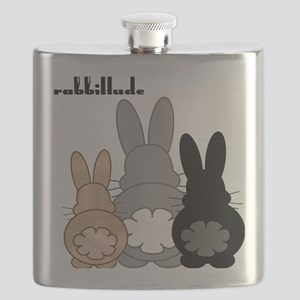 Rabbittude Posse Flask