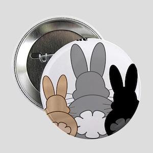 """Rabbittude Posse 2.25"""" Button"""