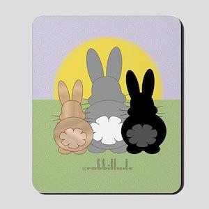 Rabbittude Posse Journal Mousepad