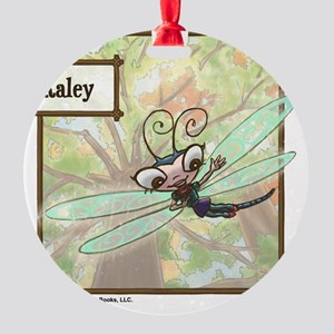 Meet Kaley! Round Ornament