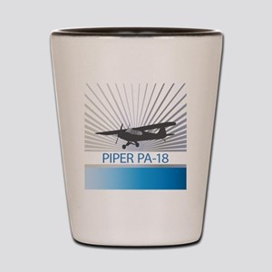 Aircraft Piper PA-18 Shot Glass