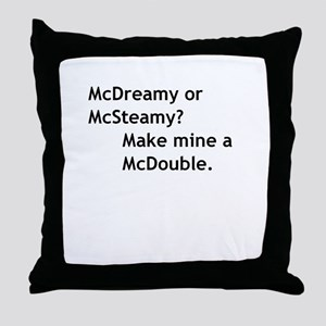 McDouble Throw Pillow