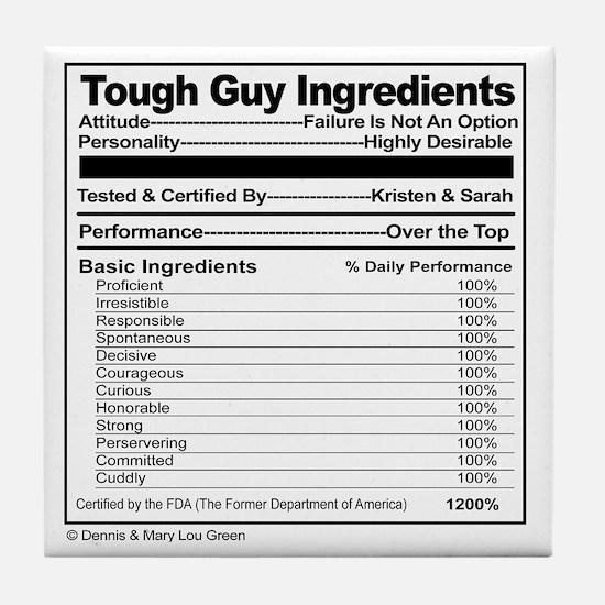 Tough Guy Ingredients Label, Fun Paro Tile Coaster