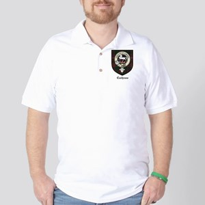 Cochrane Clan Crest Tartan Golf Shirt