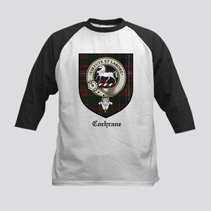 Cochrane Clan Crest Tartan Kids Baseball Jersey