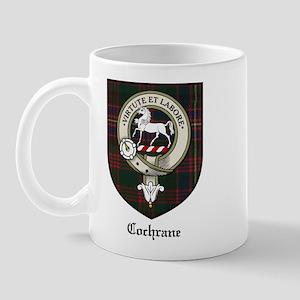 Cochrane Clan Crest Tartan Mug